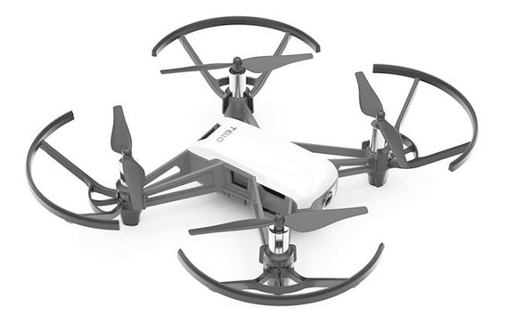 Drone Dji Tello Branco Combo C/ 3 Baterias Anatel Lacrado