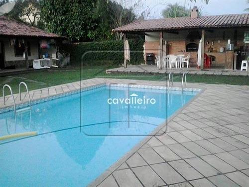 Casa Residencial À Venda, Caxito, Maricá - Ca0459. - Ca0459