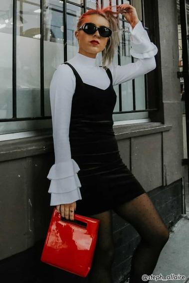Vestido Invierno Velvet Varios Colores Y Talles Forever 21