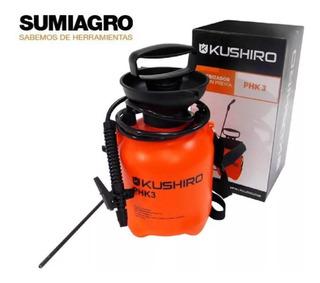 Pulverizador De Hombro 3l Phk 3 Kushiro