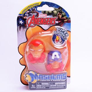 Avengers Mashems Figuras Tipo Squishy Marvel Disney Original