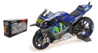 Moto Yamaha Ytz-m1 Escala 1/12 Minichamps 2016 Rossi