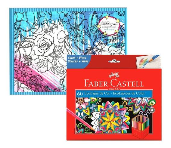 Lápices De Colores Faber Castell Eco Lápiz X60 + Block