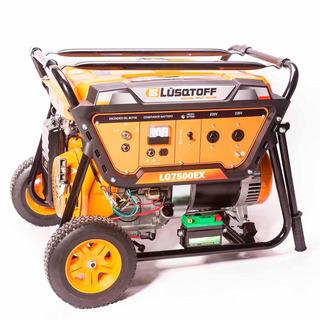 Grupo Electrógeno Generador Monofasico 6500w Lg7500ex 15hp