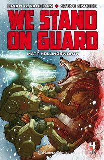 We Stand On Guard Nº 04/06 De Brian K.vaughan Comics