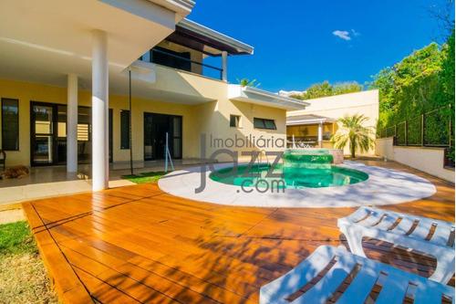 Casa Residencial À Venda, Alphaville Campinas, Campinas. - Ca0937