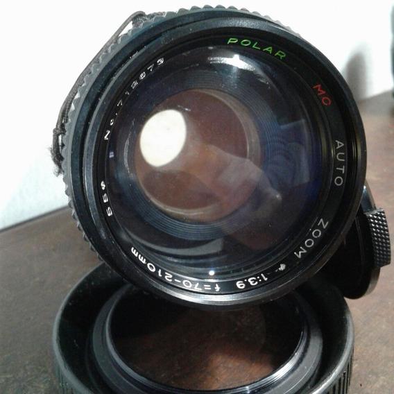 Objetiva Antiga Yashica Fx F=70-210mm Polar Mc Com Macro