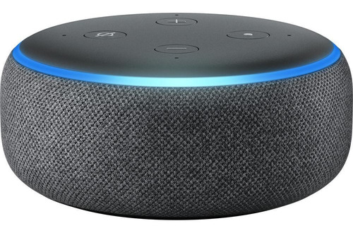 Imagem 1 de 4 de Echo Dot (3ª Geração) Smart Speaker Com Alexa - Cor Preta