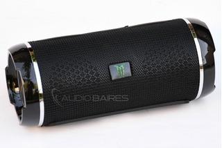 Parlante Bluetooth Panter Hbb04 Fm Usb Aux Bt - Audio Baires
