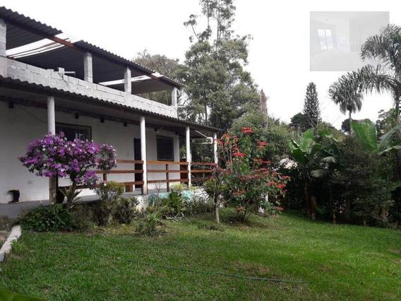 Chácara Com 2 Dormitórios À Venda, 1100 M² Por R$ 320.000 - Recanto Vital Brasil - Mauá/são Paulo - Ch0025