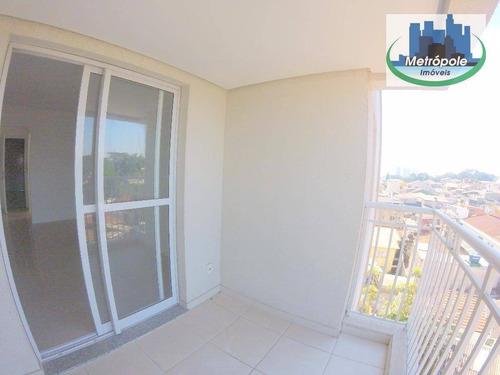 Apartamento Residencial À Venda, Jardim São Geraldo, Guarulhos. - Ap0412