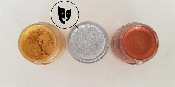 Base Cremosa Maquillaje Titi Mini Pote 5gr - Metal Plata