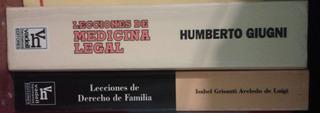 Libros De Derecho - Leer Descripc. Para Titulos Disponibles