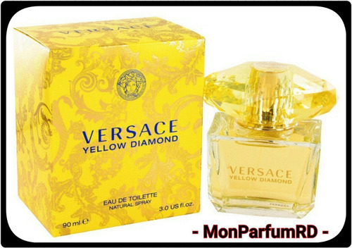 Imagen 1 de 6 de * Perfume Versace Yellow Diamond. Entrega Inmediata *