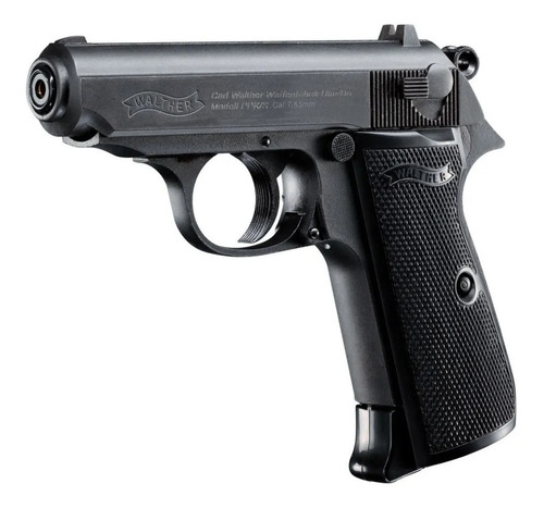 Pistola Co2 Walther Ppk/s Co2 4,5mm 15 Tiros Bw