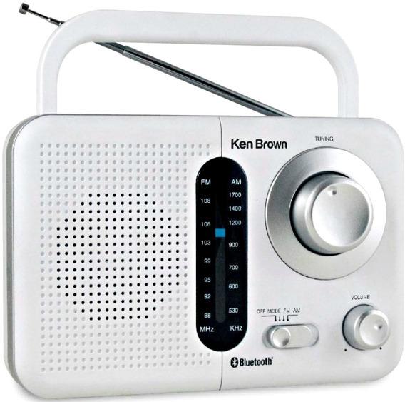 Radio Digital Am Fm Ken Brown Bluetooth Pilas 220v Tr412bt