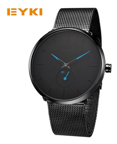 Relógio Feminino Preto Luxo Envio Imediato