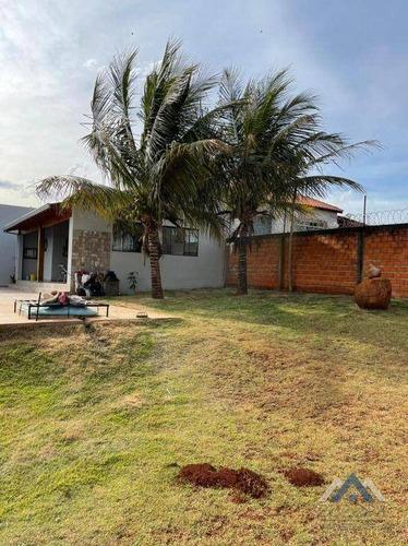 Imagem 1 de 30 de Chácara Com 2 Dormitórios À Venda, 2000 M² Por R$ 580.000,00 - Loteamento Morada Das Flores - Cambé/pr - Ch0212