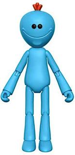 Mr Meeseeks Figura Articulada Funko Rick Y Morty Original
