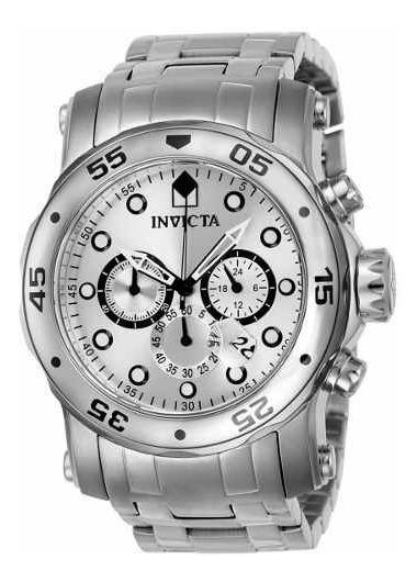 Relógio Invicta Pro Diver Todo Em Aço 23649(leia Com Atenção