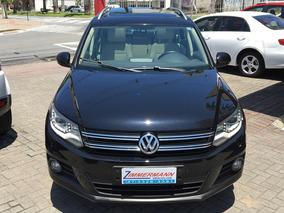 Volkswagen Tiguan 2.0 2014 Com Teto Solar E Interior Bege
