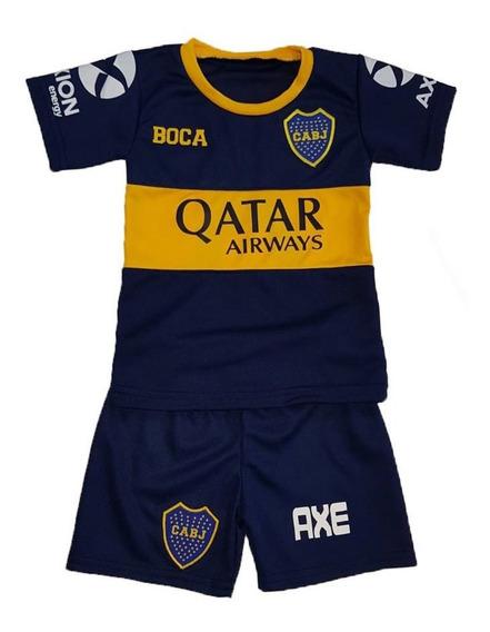 Conjuntos Camiseta Y Short Bebes Futbol. Varios Equipos