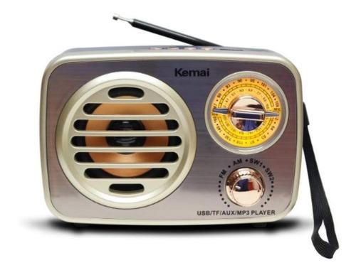 Radio Retro, Parlante Vintage, Bluetooth, Puerto Usb