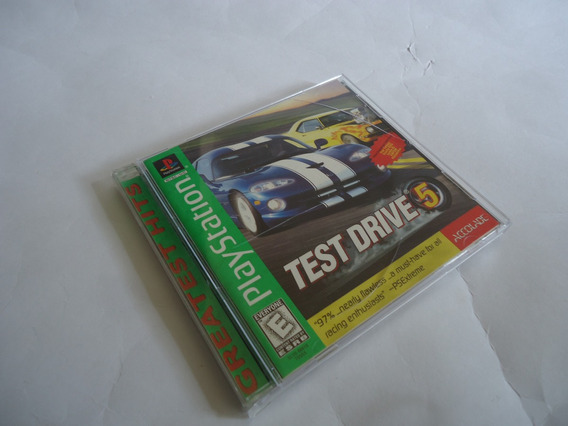 Jogo Test Drive 5 Para Psone Playstation 1 Completo