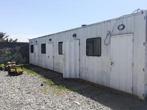 Container Habitacional Oficina, Pañol, Vestuario, Comedor