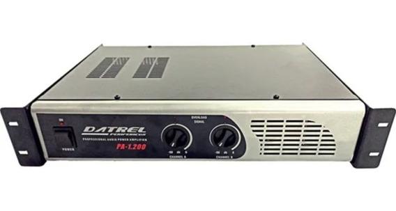 Amplificador De Potencia Datrel Profissional Pa1200 200w