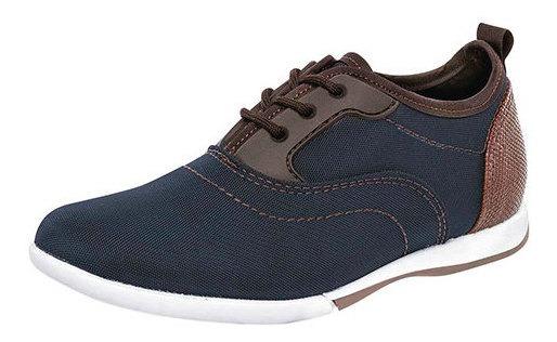 Zapato Casual Niño Pk 72901 Negro Total Marino
