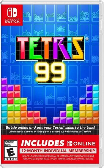 Tetris 99 + 12 Meses Assinatura Online - Midia Física!!