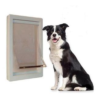 Puerta Plastico Ideal Pet Mediana Para Perro O Gato Casa