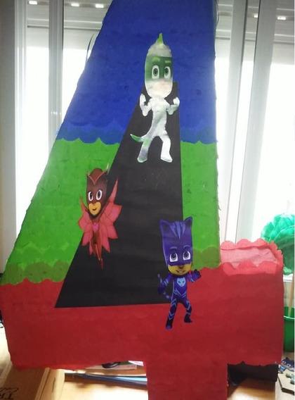 Piñata Numeros