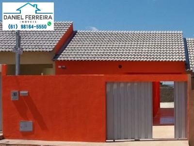 Casa Até 100% Financiadas Com 2 Quartos. - Ca00008 - 4703771