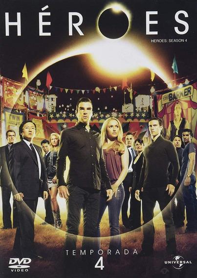 Heroes Cuarta Temporada 4 Cuatro Dvd