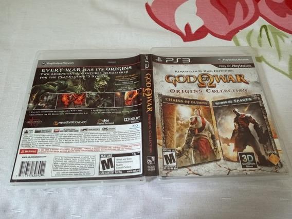 God Of War: Origins Collection Usado Play3 B15#a