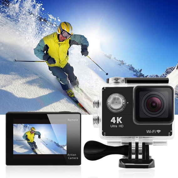 Camera 4k Sports Ultra Hd Dv H.264 A Prova Dágua*