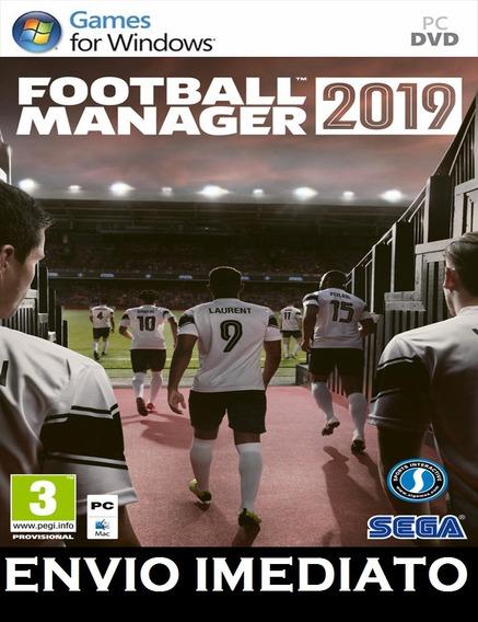 Football Manager 2019 Pc + Mídia Digital + Brinde