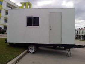 Camper Remolque Camper Caseta Oficina Movil Wc Oportunidad