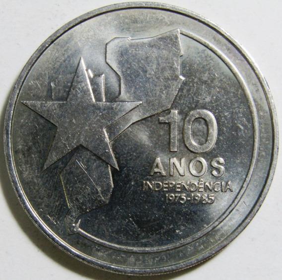 Mozambique 250 Meticais Niquel Año 1985 Independencia Unc