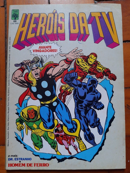 Hq Heróis Da Tv N° 68 1985 Ed Abril