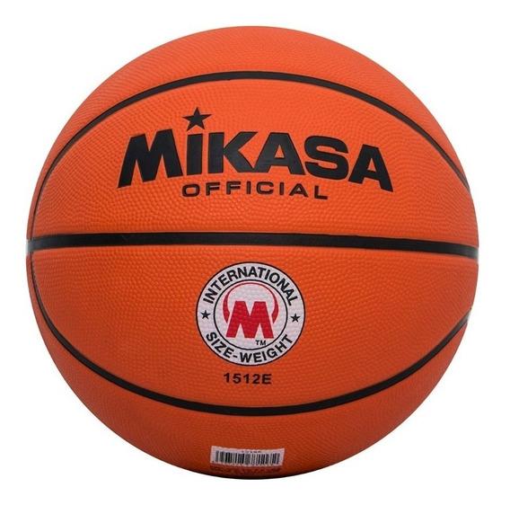 Balon Mikasa Baloncesto #7 1512e Orange Basketball