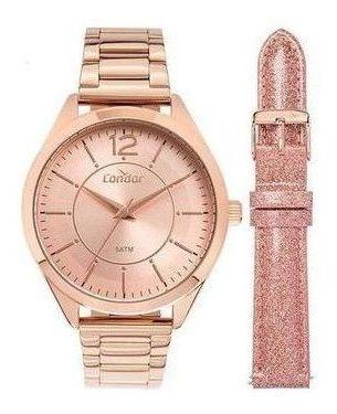 Relógio Condor Feminino Troca Pulseira Co2035muw/t4j