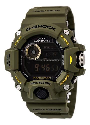 Imagen 1 de 6 de Reloj Digital Casio Gw9400-3cr, Deportivo, Solar, 54mm