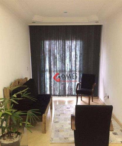 Apartamento Com 2 Dormitórios À Venda, 60 M² Por R$ 245.000 - Jardim Palermo - São Bernardo Do Campo/sp - Ap2784