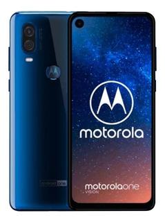 Motorola One Vision 128gb/4gb Lector De Huella Y Rect Facial