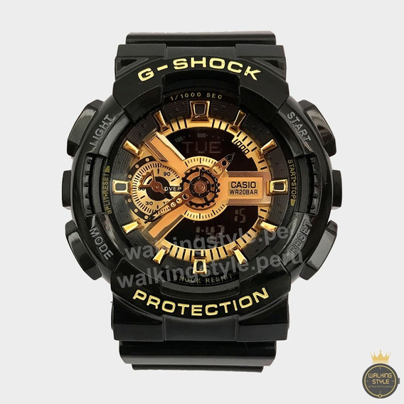 Reloj Casio G-shock Ga100 Ga110 - Stock Agosto Walkingstyle