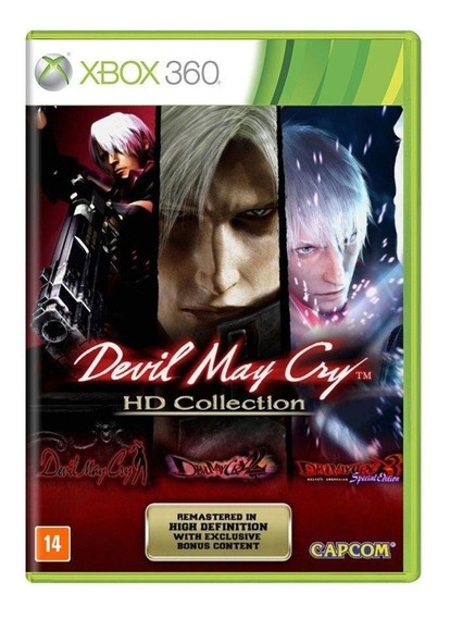 Jogo Devil May Cry Hd Collection - Xbox 360 - Novo - Física