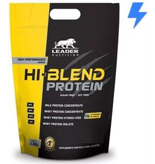 Whey Protein Hi Blend 1.8kg - Todos Sabores - Sem Soja